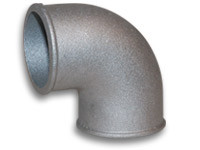 "2.5"" O.D. 90 degree Tight Radius Aluminum Elbow"