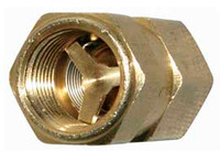 Moroso Oil Check Valve, One Way - for Oil Accumulator