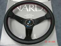 NARDI Deep Corn Leather Steering Wheel : 330 & 350mm