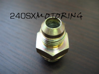 -6AN GT Turbo Water Fitting