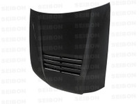 Seibon Carbon DS-style carbon fiber hood for 1999-2001 Nissan S15