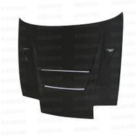 Seibon Carbon DVII-style carbon fiber hood for 1989-1994 Nissan 240SX