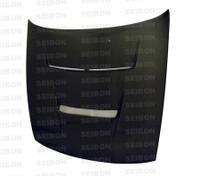 Seibon Carbon DV-style carbon fiber hood for 1989-1994 Nissan S13
