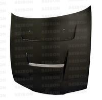Seibon Carbon DV-style carbon fiber hood for 1995-1996 Nissan 240SX