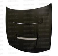Seibon Carbon DV-style carbon fiber hood for 1997-1998 Nissan 240SX