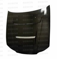 Seibon Carbon DV-style carbon fiber hood for 1999-2001 Nissan S15