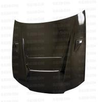 Seibon Carbon DVII-style carbon fiber hood for 1999-2001 Nissan S15