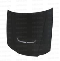 Seibon Carbon JU-style carbon fiber hood for 1999-2001 Nissan S15