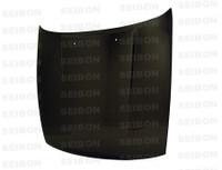 Seibon Carbon OEM-style carbon fiber hood for 1989-1994 Nissan S13 Silvia