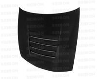 Seibon Carbon TR-style carbon fiber hood for 1997-1998 Nissan 240SX
