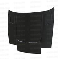 Seibon Carbon TT-style carbon fiber hood for 1989-1994 Nissan 240SX