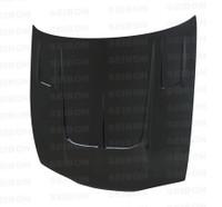 Seibon Carbon TT-style carbon fiber hood for 1995-1996 Nissan 240SX