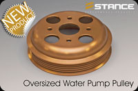 Stance Oversized Waterpump Pulley SR20DET