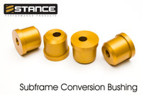 Stance S14/S15 to S13 Rear subframe conversion aluminum bushings