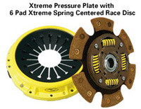 ACT Xtreme Plate Clutch w/6puck Sprung for Nissan SR20DET S13/S14