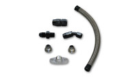 Vibrant Universal Oil Drain Kit for Turbochargers