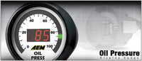 AEM - Oil Pressure Display Gauge 30-4407