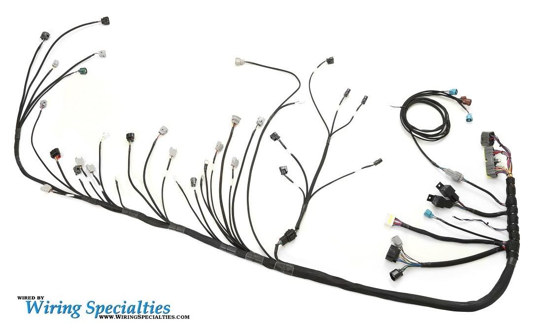wiring specialties pre made 1jzgte into s13 240sx harness rh 240sxmotoring com