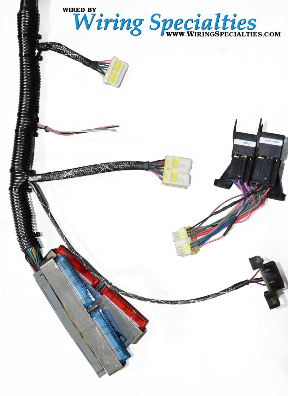 wiring specialties pre made pro ls1 into s13 240sx conversion rh 240sxmotoring com AC Wiring Harness Conversion with LS1 LS1 Standalone Wiring Harness
