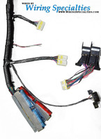 Wiring Specialties Pre-Made PRO LS1 into S14 240sx Conversion Harness Combo - TUCKED