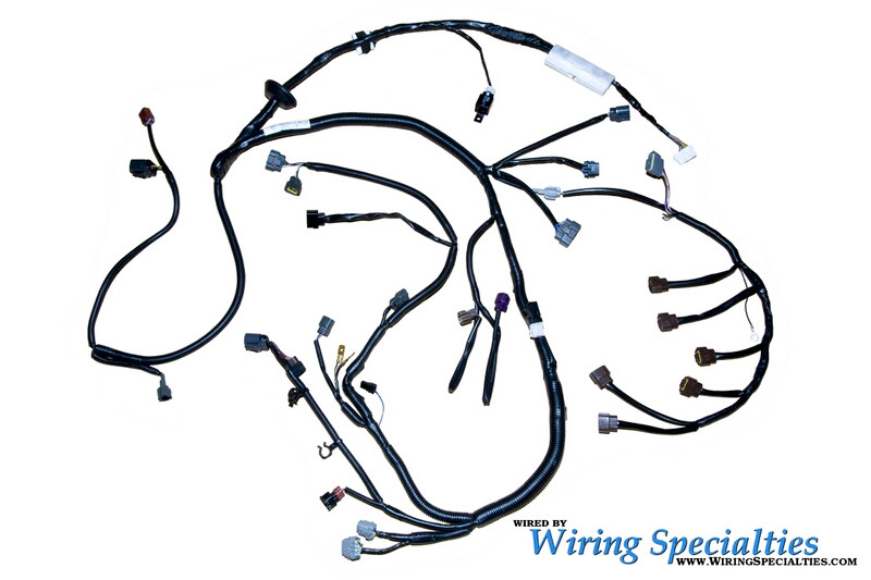 wiring specialites engine harness rb25  loading zoom