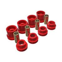7.1117R Energy Suspension 95-98 Nissan 240SX (S14) Red Rear Subframe Insert Set
