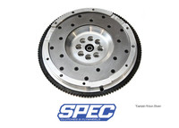 SPEC Billet Steel Flywheel - Chevrolet 5.7L LS1 SPEC billet flywheels are manufactured and developed for specific driving environments and recommended based on how each car reacts to changes in rotating mass. SPEC flywheels are NOT a one-fits-all lightweight flywheel, though they can be used for an array of driving habits and racing/high performance applications. Consult a SPEC representative for a recommendation. Manufactured from only the highest quality steel and aluminum, they are the only flywheels on the market manufactured to a .001 machine tolerance, guaranteeing a flat seating surface for the clutch and smooth rotational qualities for perfect balance and extended engine life.