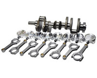 "The BC stroker kit for the Chevrolet LS Series engine incorporates your choice of stroke, from 4.000"", 4.100"", 4.125"" and 4.250"", the BC crankshafts are CNC machined from 4340, non-twist steel. Depending on bore size that you decide, the BC kit will take you up to 471 CID with a safe 4.200"" bore using Darton sleeves. The BC LS Series kit utilizes premium steel billet connecting rods. As usual, each BC kit features custom CP or JE pistons, wrist pins, and full ring pack. Big time horsepower and torque gains.  BC 4340 forged crankshaft, gun drilled for weight savings a double keyway for added support. BC 4340 steel billet H Beam connecting rods equipped with ARP2000 7/16"" fasteners. Choice of CP Bullet Series or JE shelf pistons or custom CP or JE brand pistons made to any spec. 5100 alloy wrist pins and ductile iron plasma top rings, tapered second ring, low tension oil rings. ACL Race Series rod and main bearings are not included and are available for additional cost. Available as fully system balanced and ready to install for additional cost or self balance."