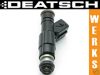 Deatschwerks High Flow Fuel Injectors - Chevrolet 5.7L LS1/LS6  DeatschWerks is an American-based company that is dedicated to fueling your passion for performance. All DeatschWerks high-flow, high-performance fuel injectors are built using quality OEM cores, and each set is balanced to within a 2% flow variation. At the end of the day, this means better fitment, easier tuning, and improved reliability. All injector sets are backed by a comprehensive 12-month warranty.   Features:  100% drop-in fitment with all o-rings pre-installed Bosch OEM quality for years and years of reliable performance Flow balancing of each set to within a 1-2% variance Individual color flow reports for each set so you can see the results installation lube for o-rings 12-month comprehensive warranty Fits: Chevrolet 5.7L LS1 / LS6