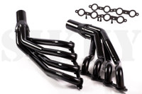 Sikky Header LS1 S13/S14 1 7/8 - Nissan 240SX S13/S14  Sikky headers allow perfect drop in fitment in S13/S14 240sx with LS1 motor w/T56 (Camaro) transmission using Sikky motor mounts.  LS1 S13 / S14 240sx uncoated  Recommended for drag/street use (making 500 + HP)  Non-Thermal coated and painted black.