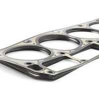 "Cometic MLS Metal Head Gasket Set - Chevrolet 5.7 - 6.2L LS Engines  Cometic Multi-Layer Steel MLS gaskets are comprised of three layers of stainless steel. The outer layers are an embossed viton coated stainless steel providing a superior seal with excellent rebound characteristics and are corrosive resistant. MLS head gaskets reduce bore distortion and withstand extreme cylinder pressures.  Cometic head gaskets go on dry because they are coated with a sealant. Each MLS head gasket is coated with a .001"" thick viton rubber that is bonded to the outer stainless steel layers. Adding an additional sealer can hinder the performance of an MLS head gasket.  SOLD PER GASKET, NOT AS A PAIR!  For a complete gasket set, ensure quantity is set to 2. Cometic gaskets are not side specific.  Fits: 5.7L, 6.0L, 6.2L LS Series Engines"