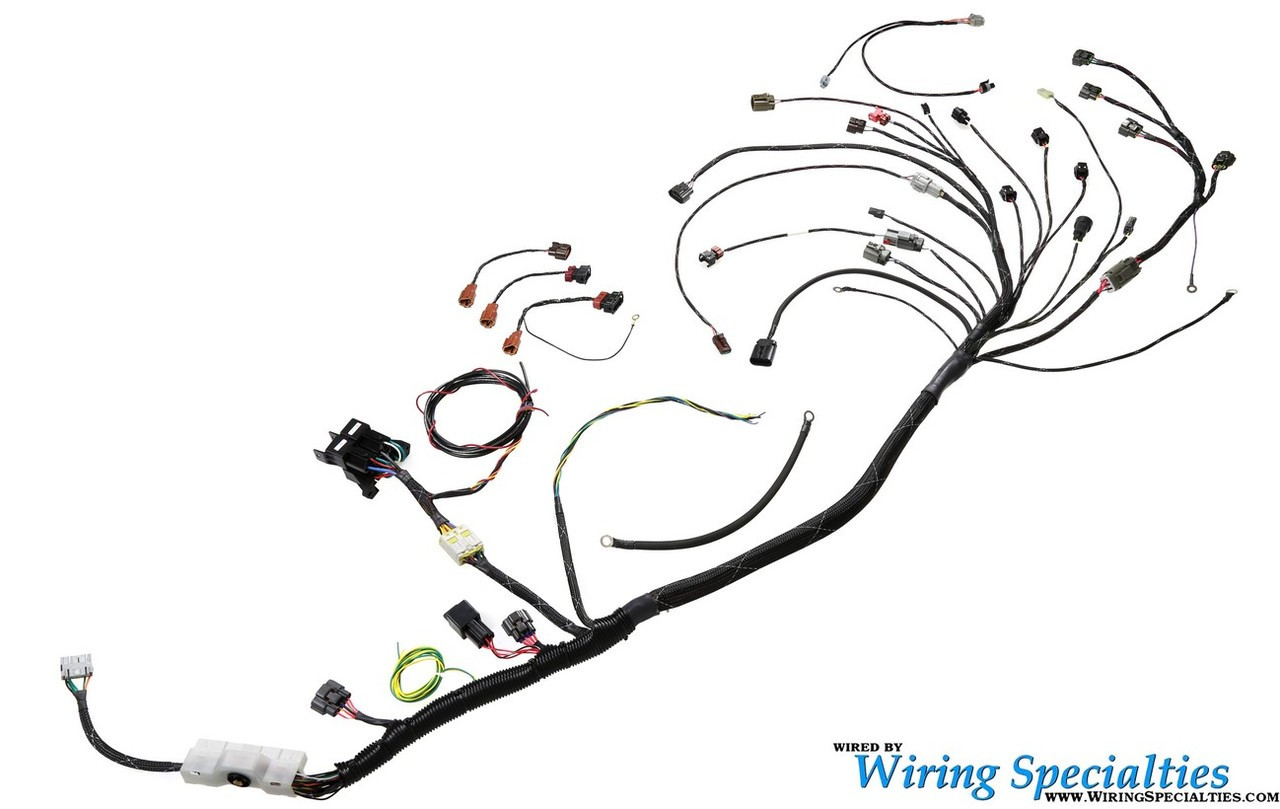 wiring specialties s13 sr20det pro universal race tucked harness nissan wiring harness connectors wiring specialties s13 sr20det pro universal race tucked harness loading zoom