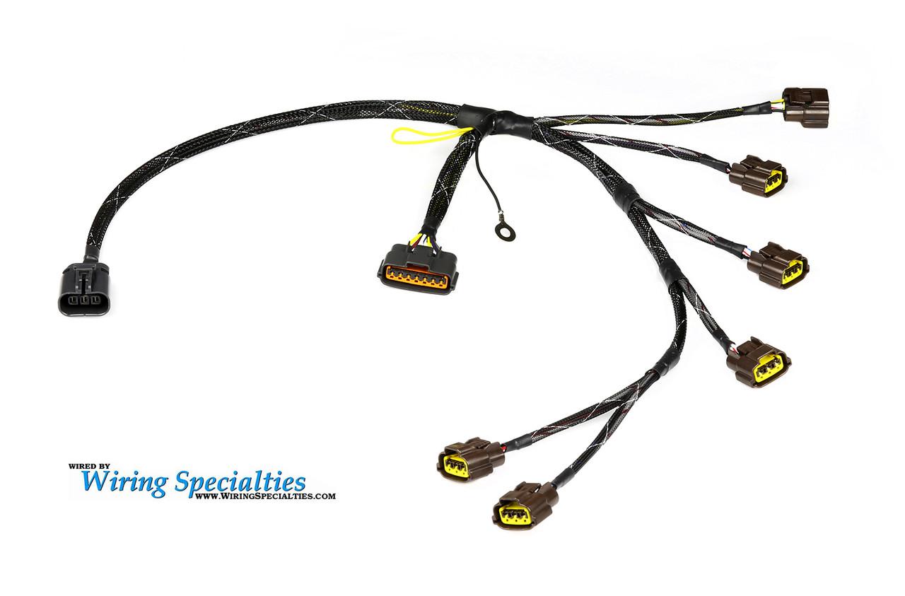 wiring specialties pro rb26dett coilpack harness brand new rh 240sxmotoring com Custom Wiring Wiring Specialist