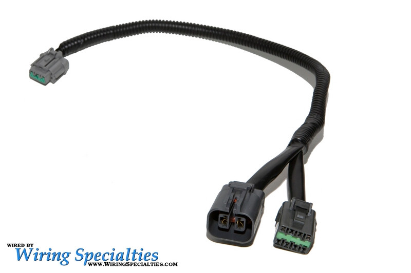wiring specialties r32 rb20det into s13 240sx pre made transmission lower harness