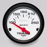 Auto Meter Phantom - Transmission Temperature Gauge: 100-250 Degrees FAHRENHEIT