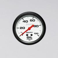 Auto Meter Phantom - Oil Pressure Gauge - Mechanical 67mm