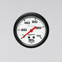 Auto Meter Phantom - Oil Pressure Gauge - Mechanical 67mm