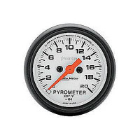 Auto Meter Phantom - EGT/Pyrometer - FAHRENHEIT (0-2,000 Degrees)