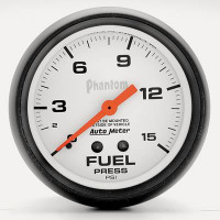 Auto Meter Phantom - Fuel Pressure Gauge: 67mm