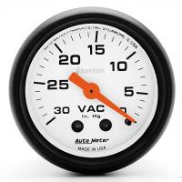 Auto Meter Phantom - Vacuum Gauge
