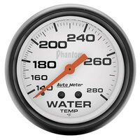 Auto Meter Phantom - Water Temperature Gauge 67 mm - FAHRENHEIT (140-280 Degrees)