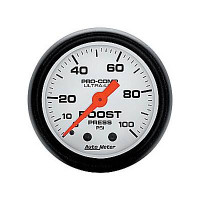 Auto Meter Phantom - Boost Gauge 100 PSI
