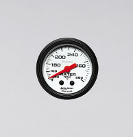 Auto Meter Phantom - Water Temperature Gauge - FAHRENHEIT (140-280 Degrees)