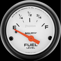 Auto Meter Phantom - Fuel Level Gauge - 240 ohms / 33 ohms