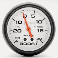 Auto Meter Phantom - Boost Gauge 67mm: 20 PSI