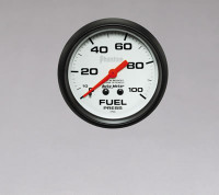 Auto Meter Phantom - Fuel Pressure Gauge 67mm: 0-100 PSI