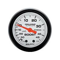 Auto Meter Phantom - Boost Gauge 45 PSI