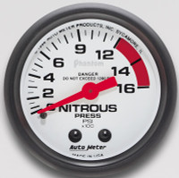 Auto Meter Phantom - Nitrous Pressure Gauge 67mm: 0-2,000 PSI
