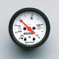 Auto Meter Phantom - Boost Gauge 15 PSI