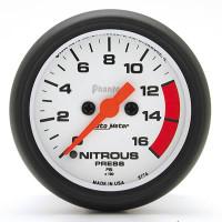 Auto Meter Phantom - Nitrous Pressure Gauge: 0-1,600 PSI